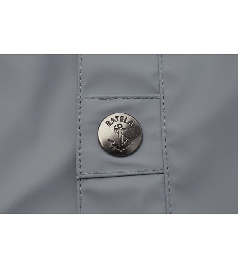 impermeable nautico mujer 3031 gris 3