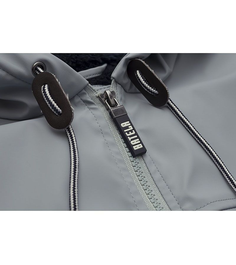impermeable nautico mujer 3031 gris 2