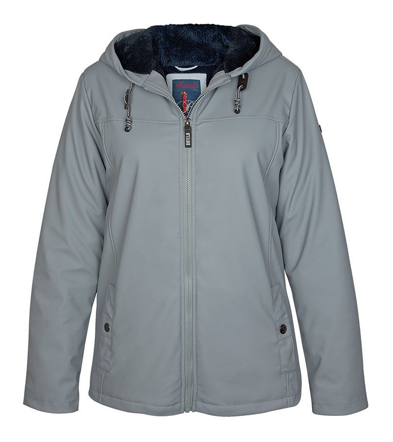impermeable nautico mujer 3031 gris 1