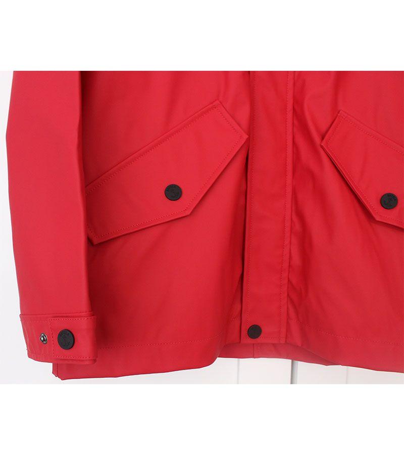 impermeable verano hombre batela 3013 rojo 5
