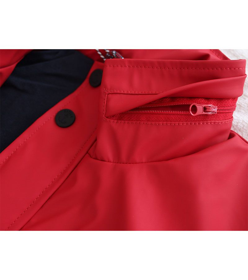 impermeable verano hombre batela 3013 rojo 4