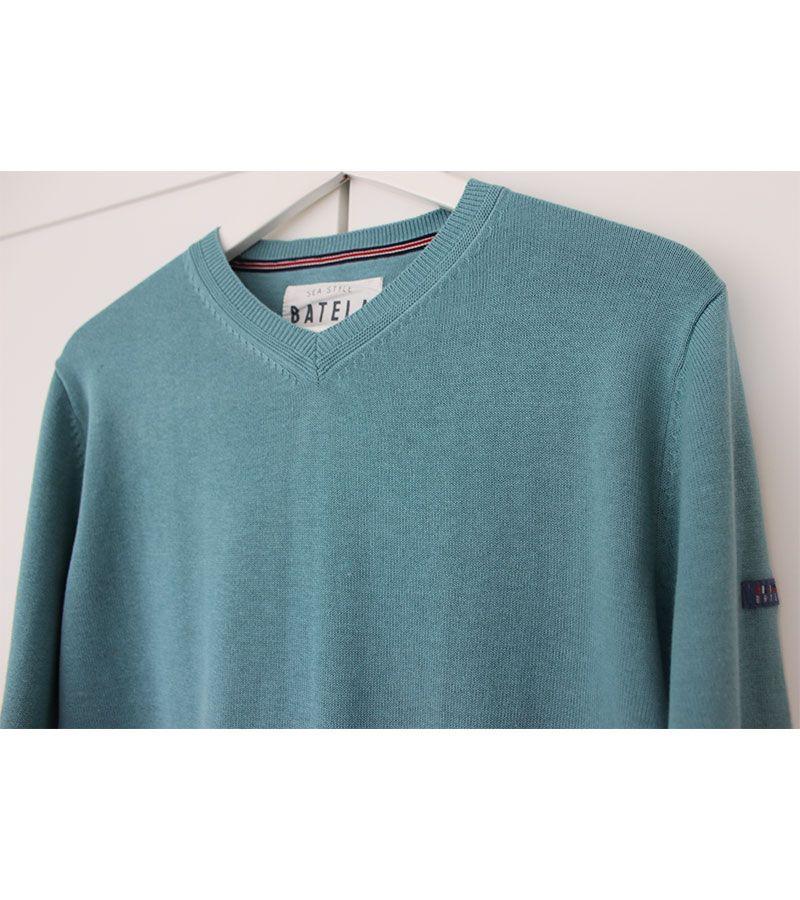 jersey hombre batela 3309 esmeralda 2