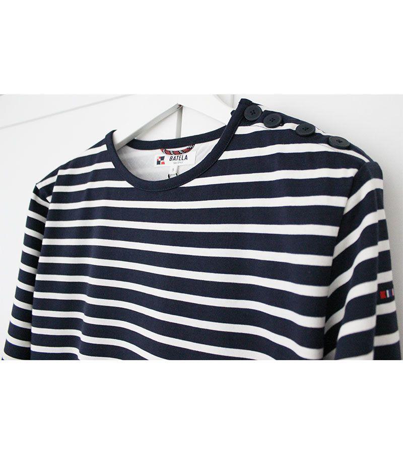 camiseta hombre batela 2060 marino cuerda 4