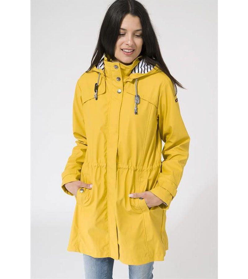impermeable amarillo mujer batela