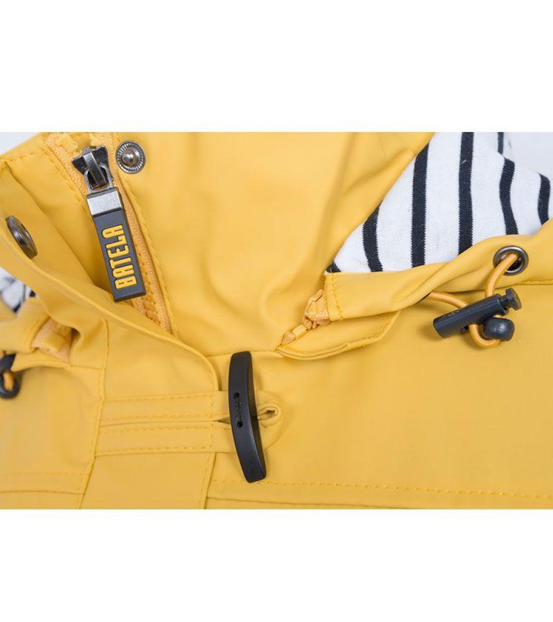 impermeable nautico mujer batela amarilo 3008 4