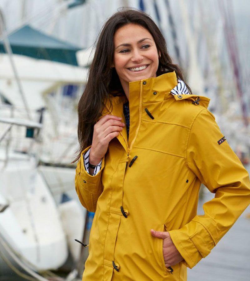 impermeable nautico mujer batela amarilo 3008 2
