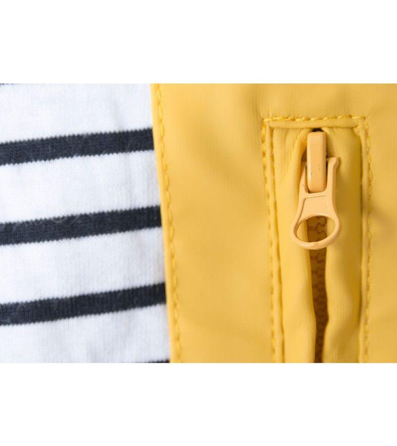 impermeable nautico mujer batela amarilo 3008 1