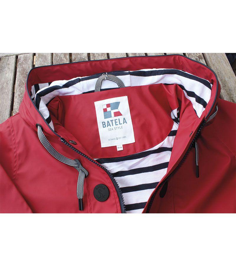 impermeable nautico batela 3058 rojo 1