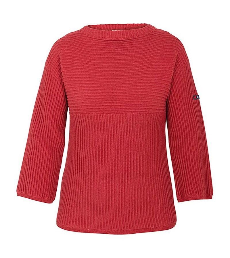 jersey mujer batela 3301 paprika rojo