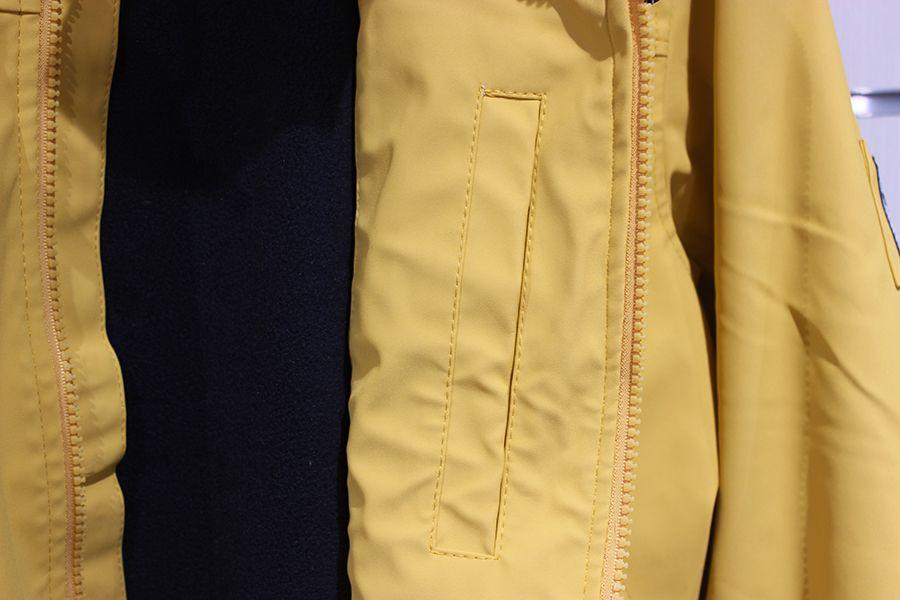 impermeable nautico batela color amarillo 3024 bolsillo interior