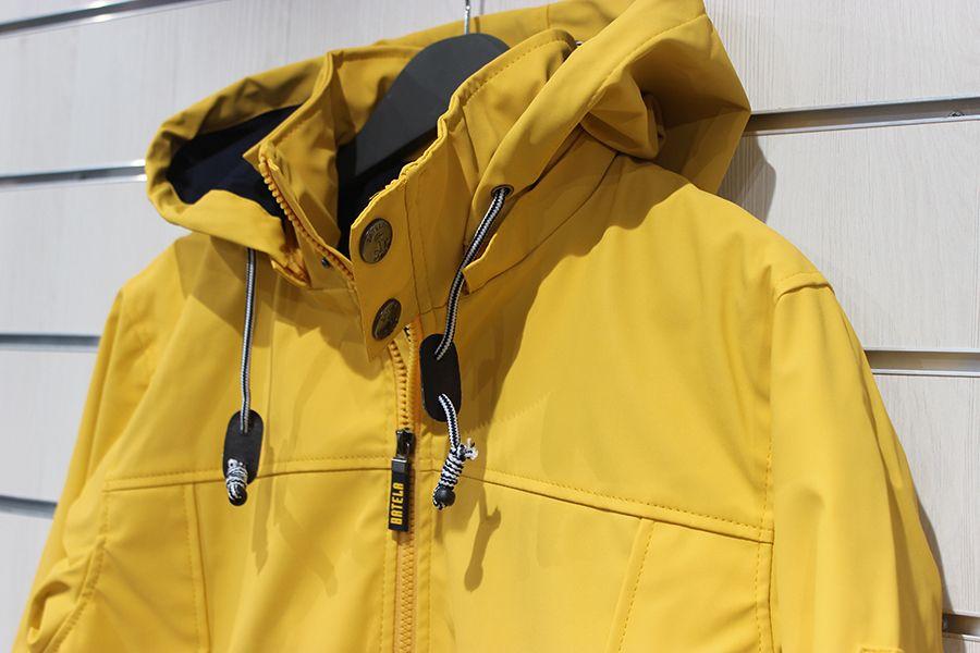 impermeable nautico batela color amarillo 3024 capucha